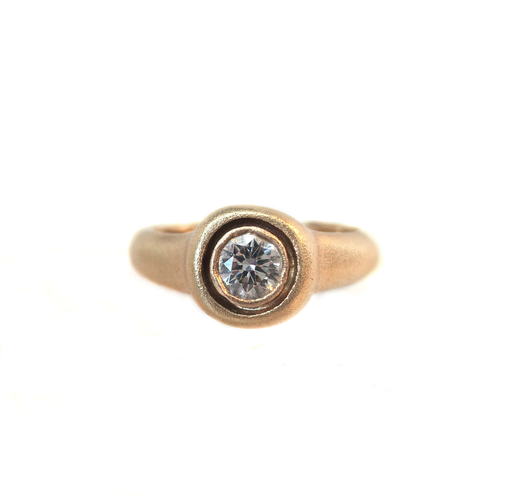 yellow chinchar gold diamond maloney carat cut bezel in icy cushion set ring white rose