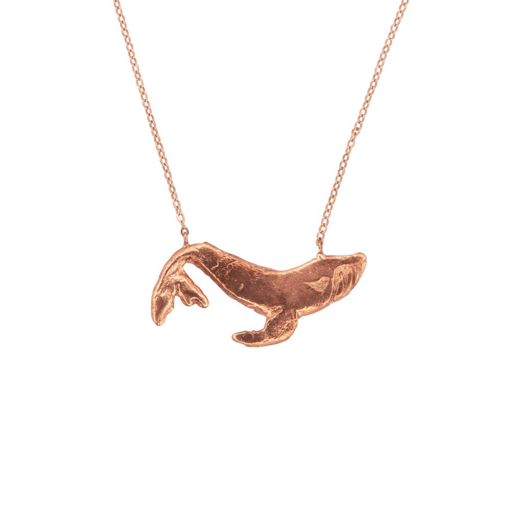 Gold Whale Necklace
