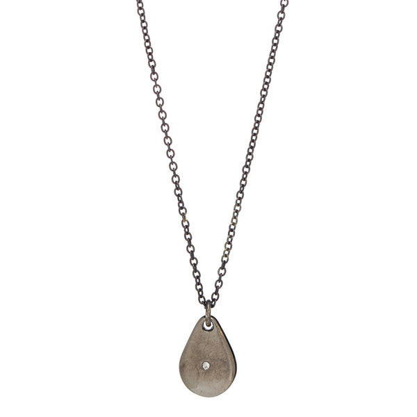 Medium Drop Necklace with Diamond