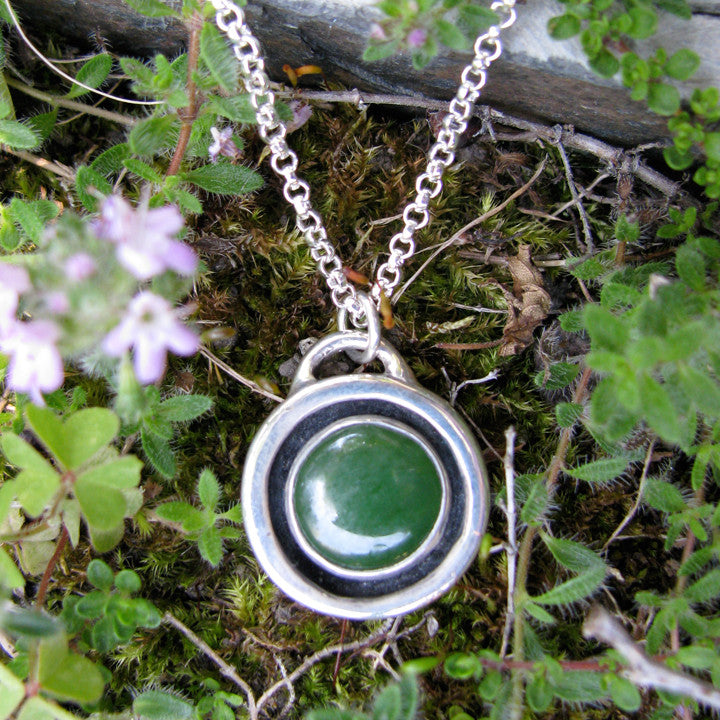 Round Stone Necklace
