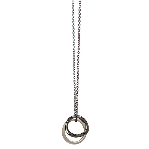 Baby Bent Loop + Ring Necklace