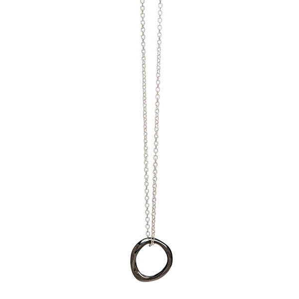Baby Bent Loop Necklace
