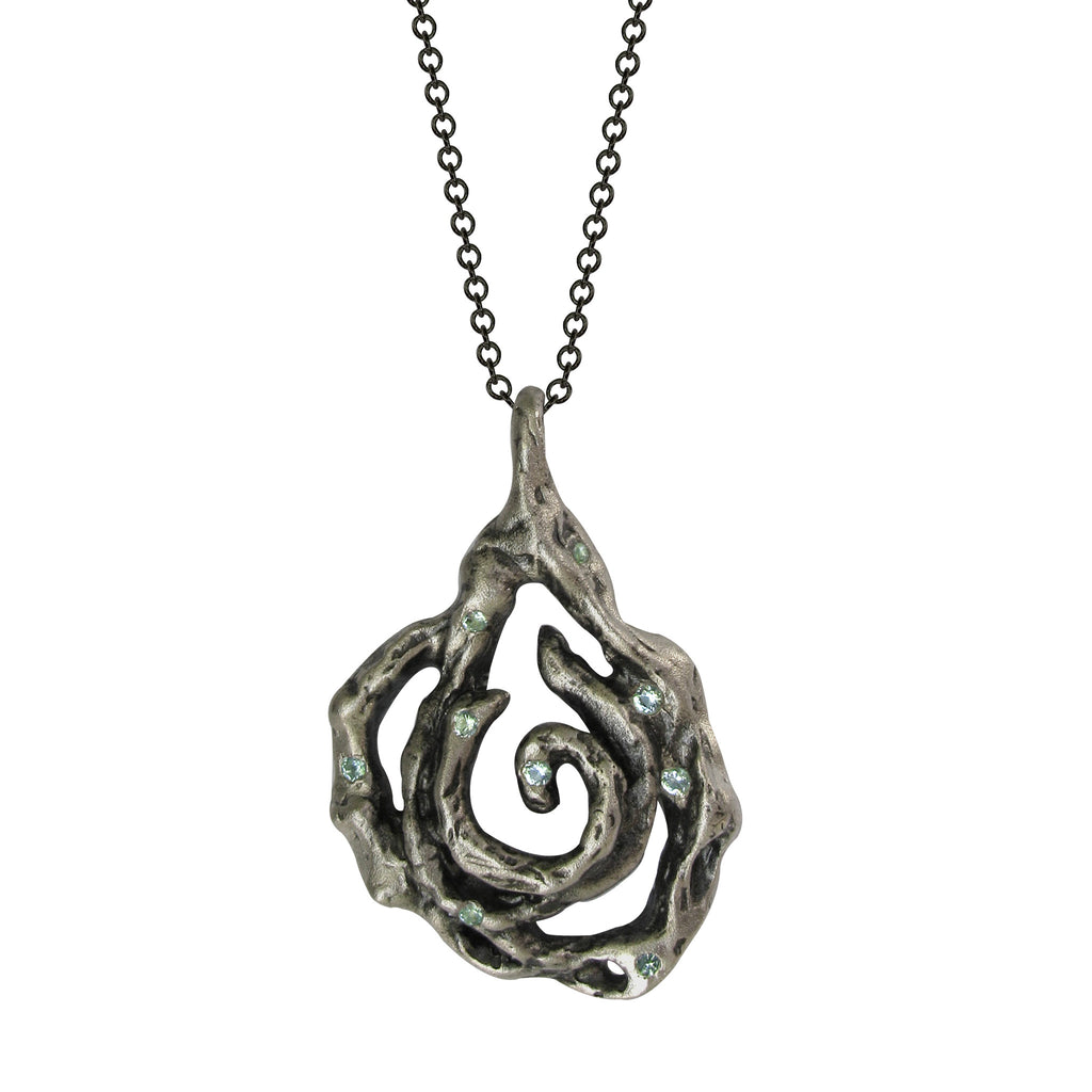 Water Flower Necklace