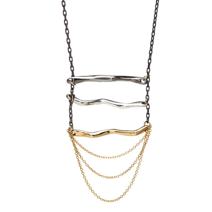 Ladder and Chain Necklace