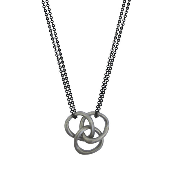 Triple Baby Bent Loop Necklace
