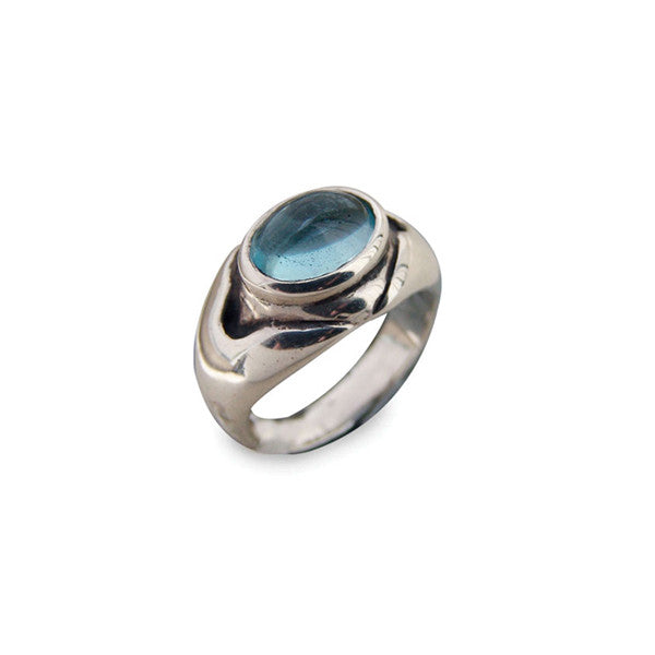 Oval Setting Stone Ring