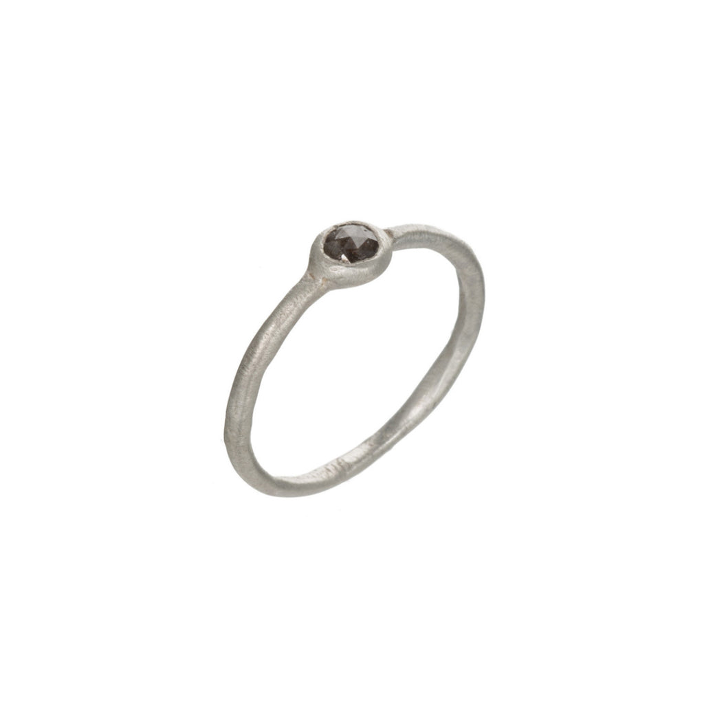 3mm Bezel Set Ring