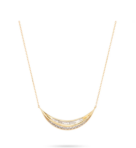 Heirloom Large Curve Necklace