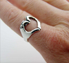 Heart Hand Ring