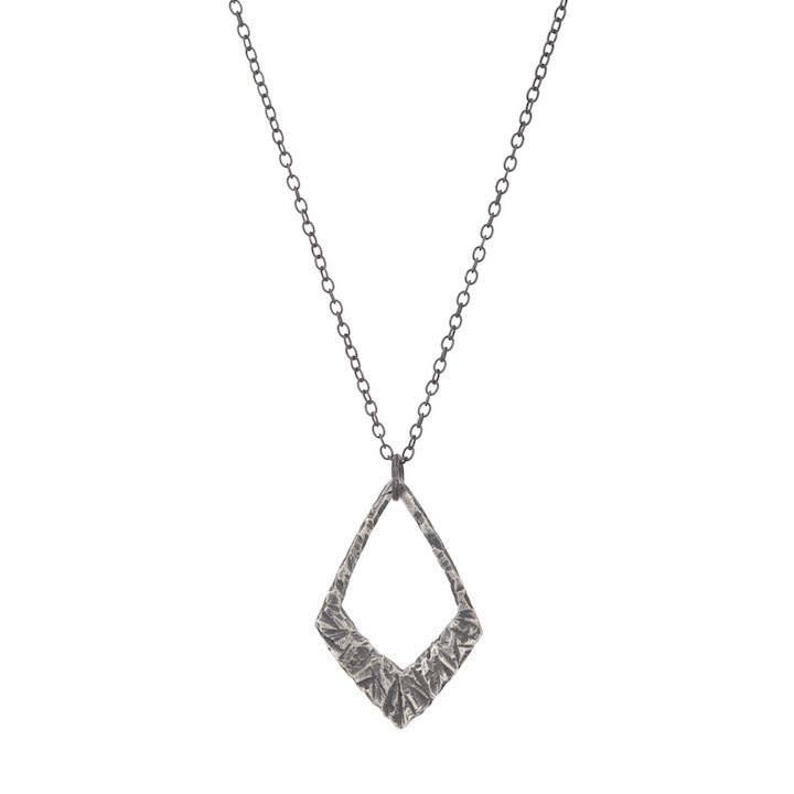 Jagged Diamond Pendant