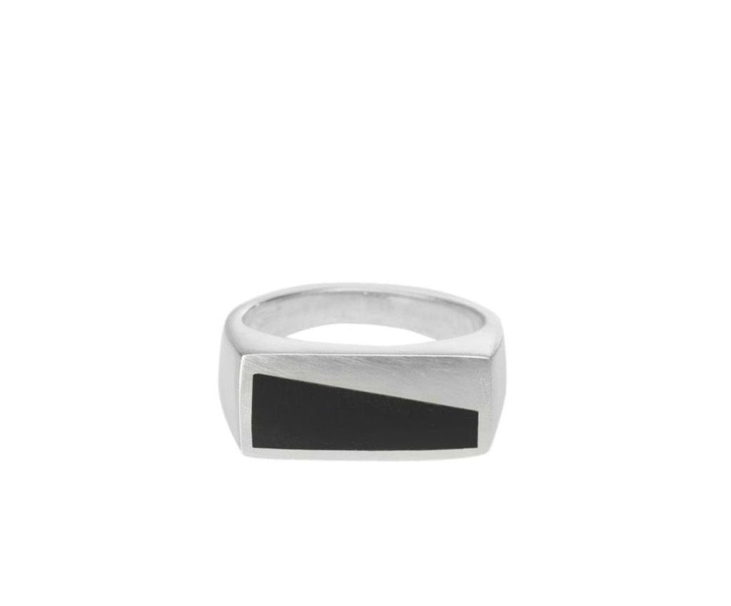 Onyx Inlay Ring