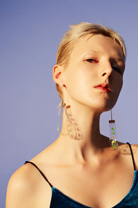 PVC removable earring