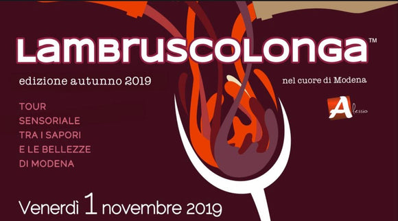 LAMBRUSCOLONGA 1 NOVEMBRE 2019 - ACQUISTA TICKET