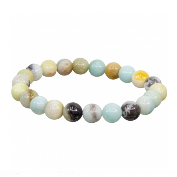 Amazonite Natural Beaded Bracelet