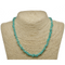 Amazonite Natural Beaded Chip Necklace