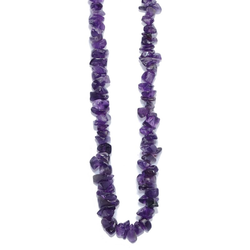 Amethyst Beaded Necklace For Sale | Dinomite Rocks and Gems