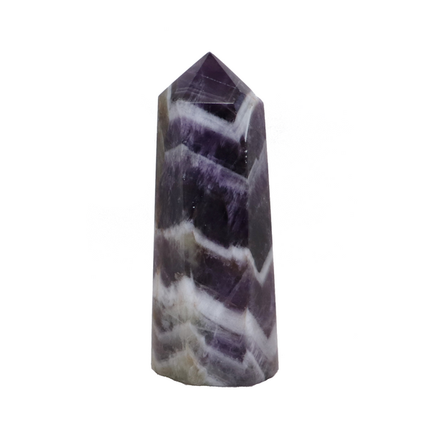 Amethyst Obelisk Polished Point | Dinomite Rocks and Gems