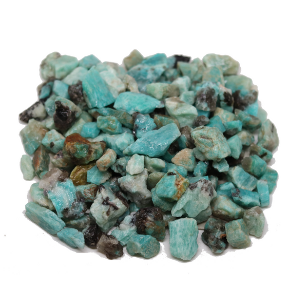 Amazonite Blue Crystal - 1lb Lot
