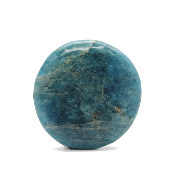Blue Apatite Smooth Stone