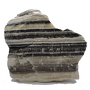 Black and White Banded Calcite Crystal - 3lbs 9.5oz