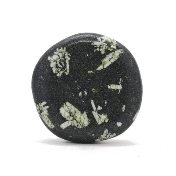 Chinese Writing Rock Smooth Stone