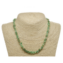 Chrysoprase Natural Beaded Chip Necklace