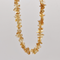 Citrine Natural Beaded Chip Necklace