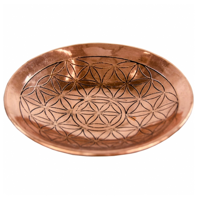 Copper Engraved Bowl for Sale | Dinomite Rocks and Gems