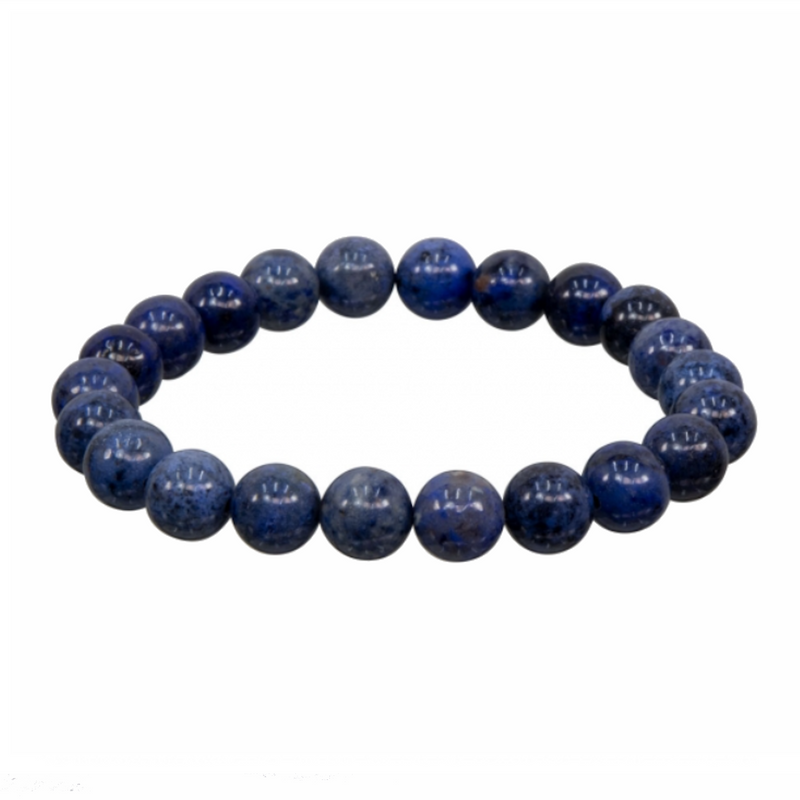 Dumortierite Natural Beaded Bracelet