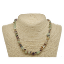 Fluorite Natural Beaded Chip Necklace