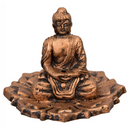 Buddha on Lotus Incense Holder for Sale | Dinomite Rocks and Gems
