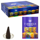 Green Tree 7 Angels Incense Cones - 10 cones