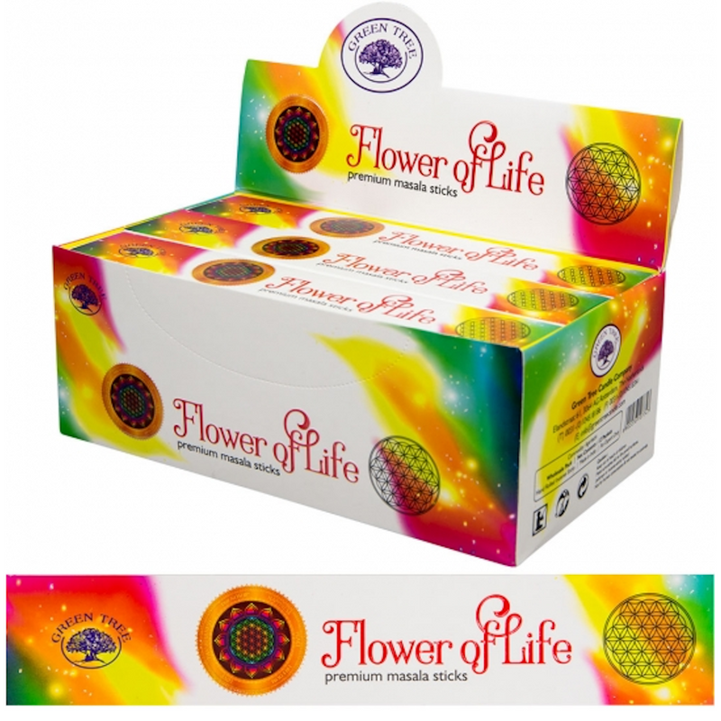 Green Tree Incense - Flower of Life 15 gr