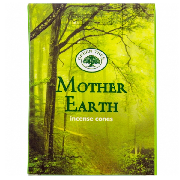 Green Tree Mother Earth Incense Cones - 10 Cones