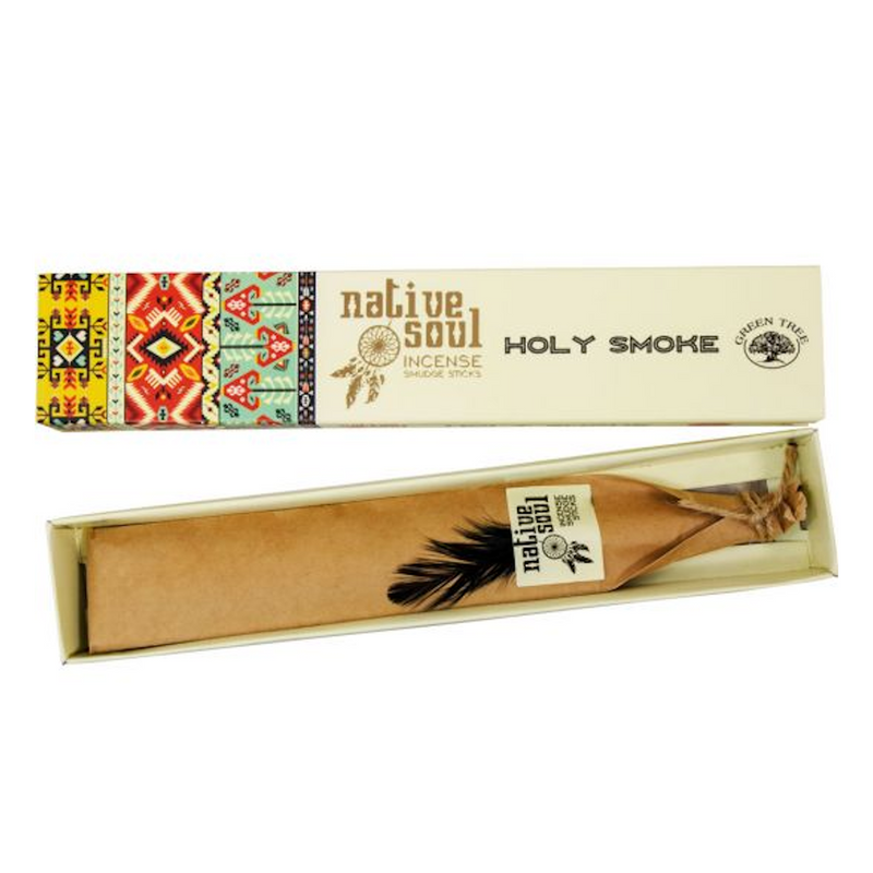 Green Tree Native Soul Incense - Holy Smoke 15gr