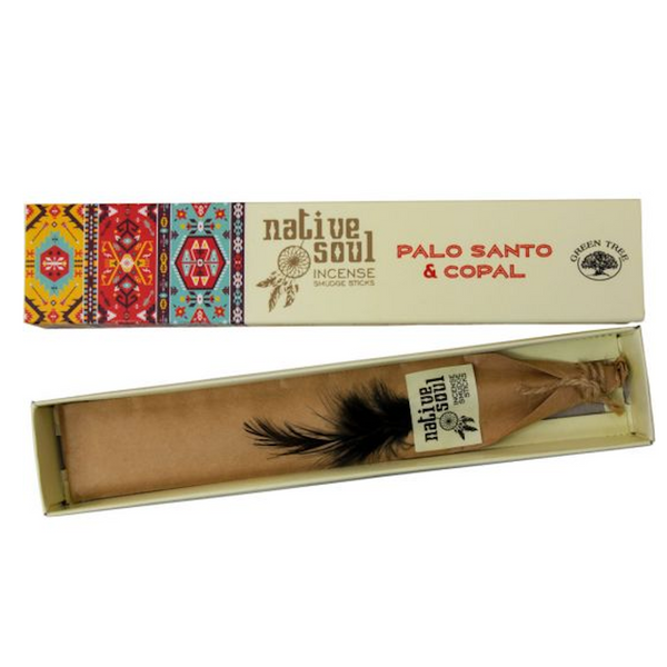 Green Tree Native Soul Incense - Palo Santo & Copal 15gr