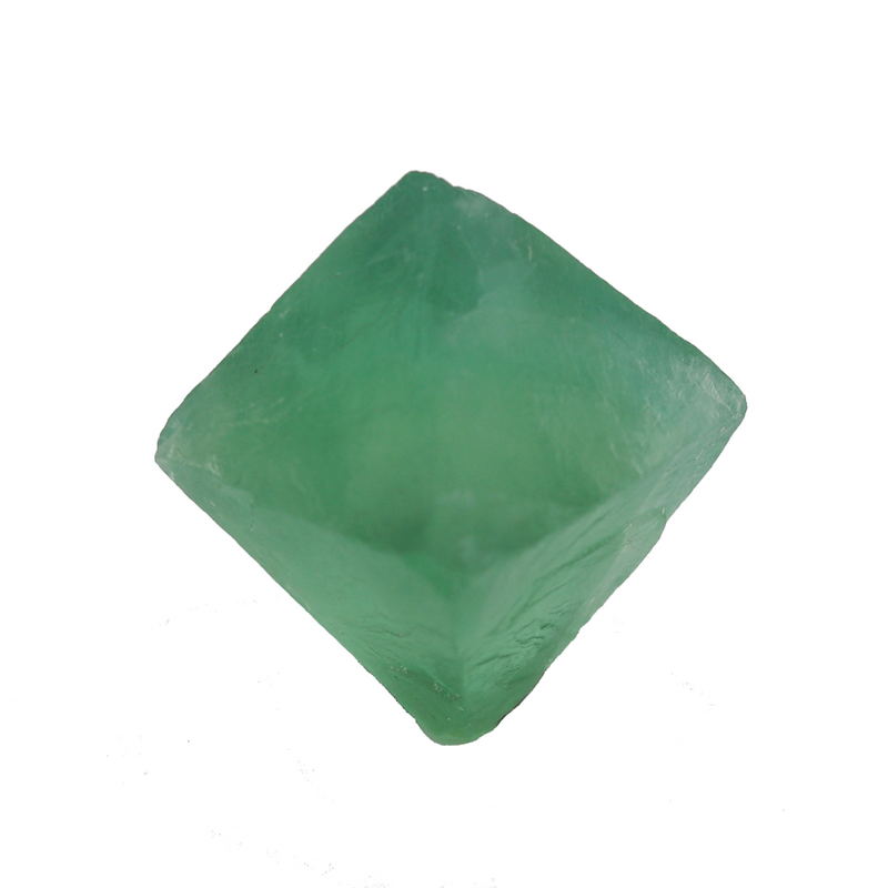 Single Fluorite Octahedron - Green