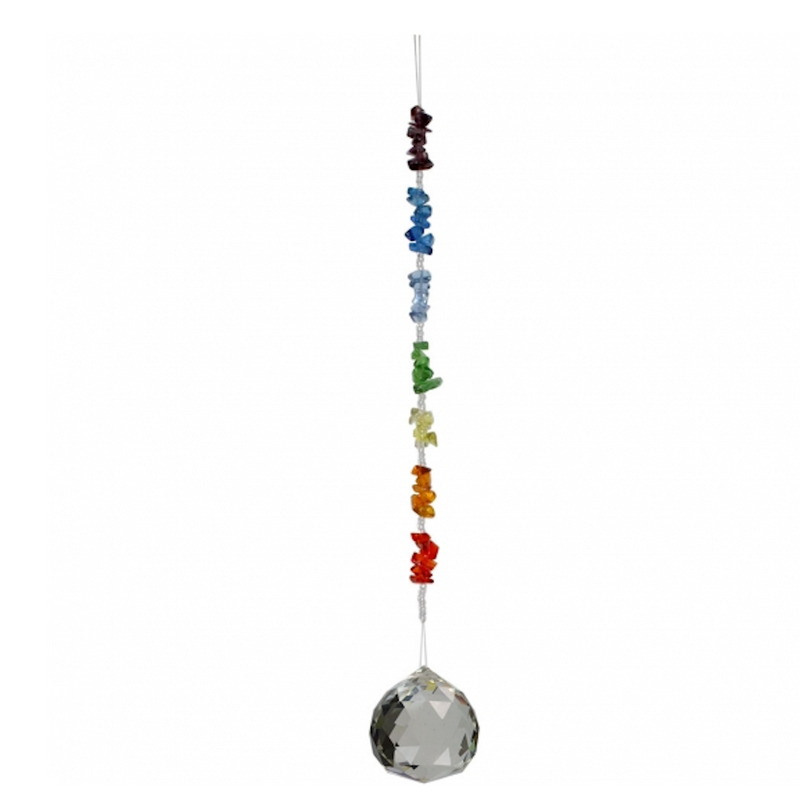 Hanging Crystal Chips Stone Chakra