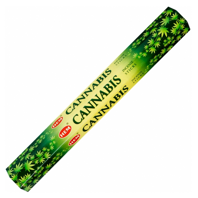 Hem Hexagonal Pack Incense 20 gr - Cannabis