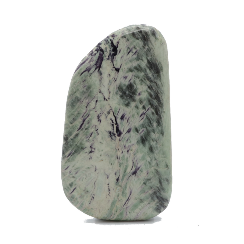 Kammererite Kammerite Smooth Stone for Sale | Dinomite Rocks and Gems