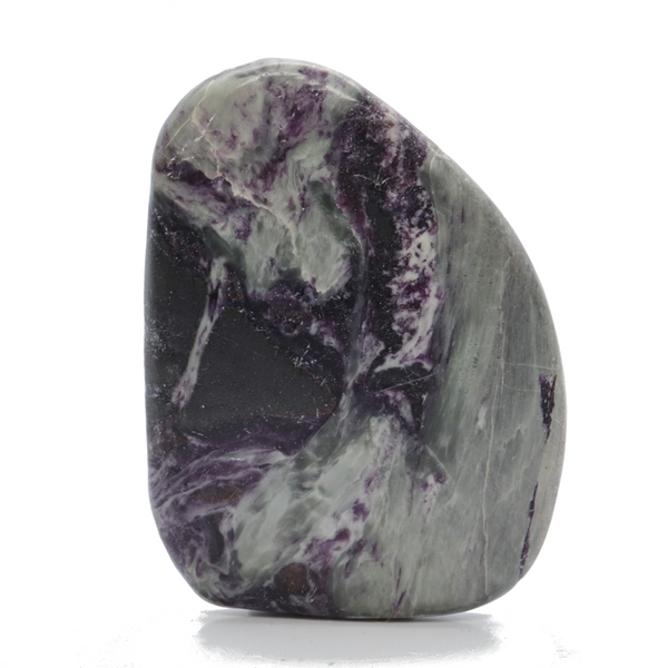 Kammererite Smooth Stone for Sale | Dinomite Rocks and Gems