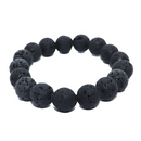Lava Natural Beaded Bracelet
