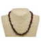 Mahogany Natural Beaded Chip Necklace