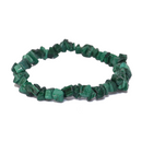 Malachite Natural Chip Bracelet Jewelry | Dinomite Rocks and Gems