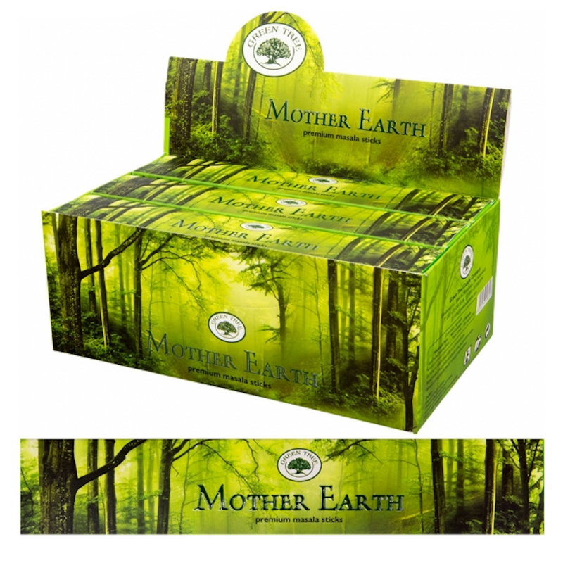 Green Tree Incense Mother Earth for Sale | Dinomite Rocks and Gems