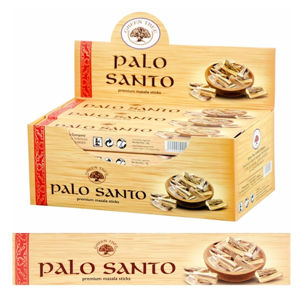 Green Tree Incense Palo Santo for Sale | Dinomite Rocks and Gems