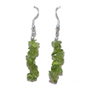 Peridot Chip Earrings For Sale | Dinomite Rocks and Gems