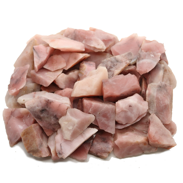 Pink Quartz Rough - 1lb Lot