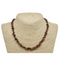 Rhodonite Natural Beaded Chip Necklace