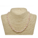 Rose Quartz Natural Beaded Chip Necklace
